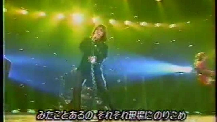 ミュージックステーションで「おでかけしましょ」を披露したB'z